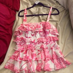 Lilly Pulitzer Olive Top